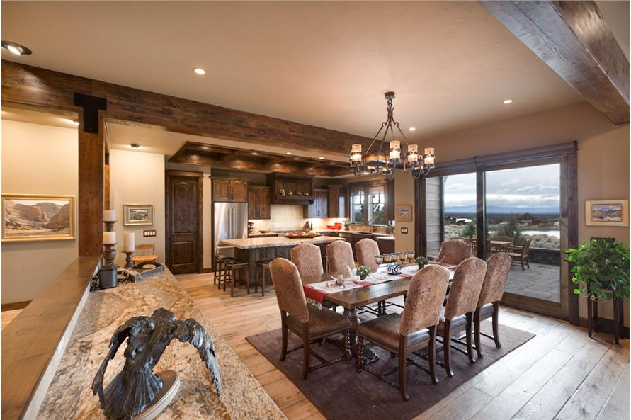 Dining Room of this 3-Bedroom,3959 Sq Ft Plan -3959