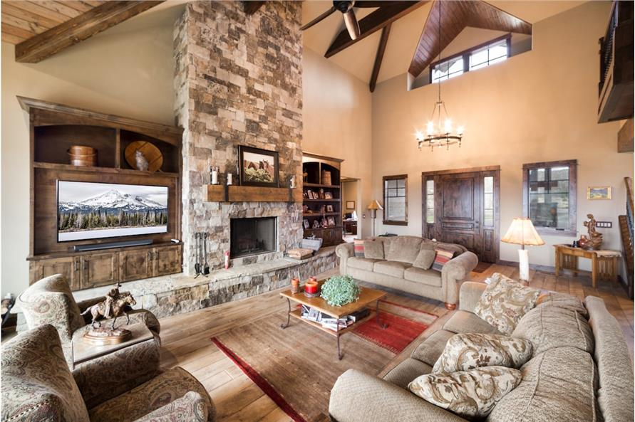 Great Room of this 3-Bedroom,3959 Sq Ft Plan -3959