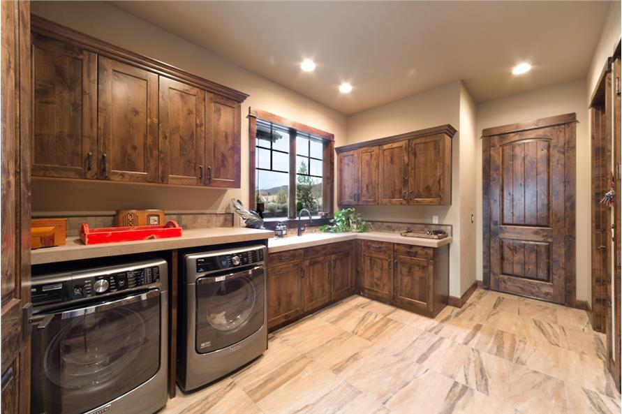 Laundry Room of this 3-Bedroom,3959 Sq Ft Plan -3959