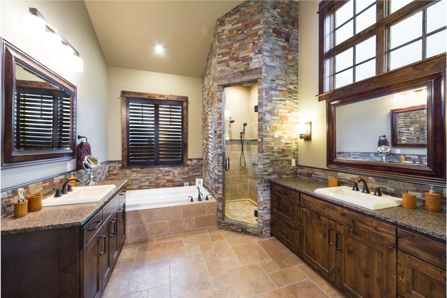 Master Bathroom of this 3-Bedroom,3959 Sq Ft Plan -3959