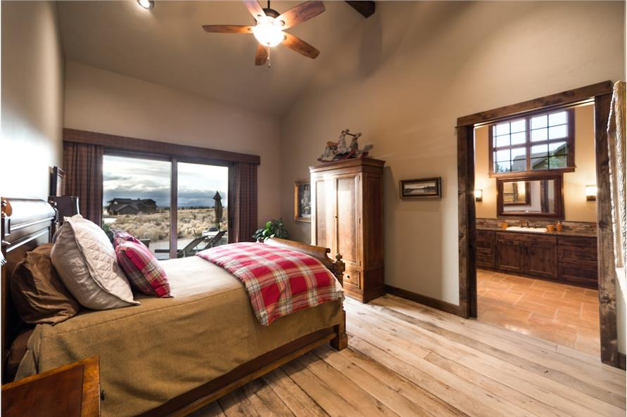 Master Bedroom of this 3-Bedroom,3959 Sq Ft Plan -3959