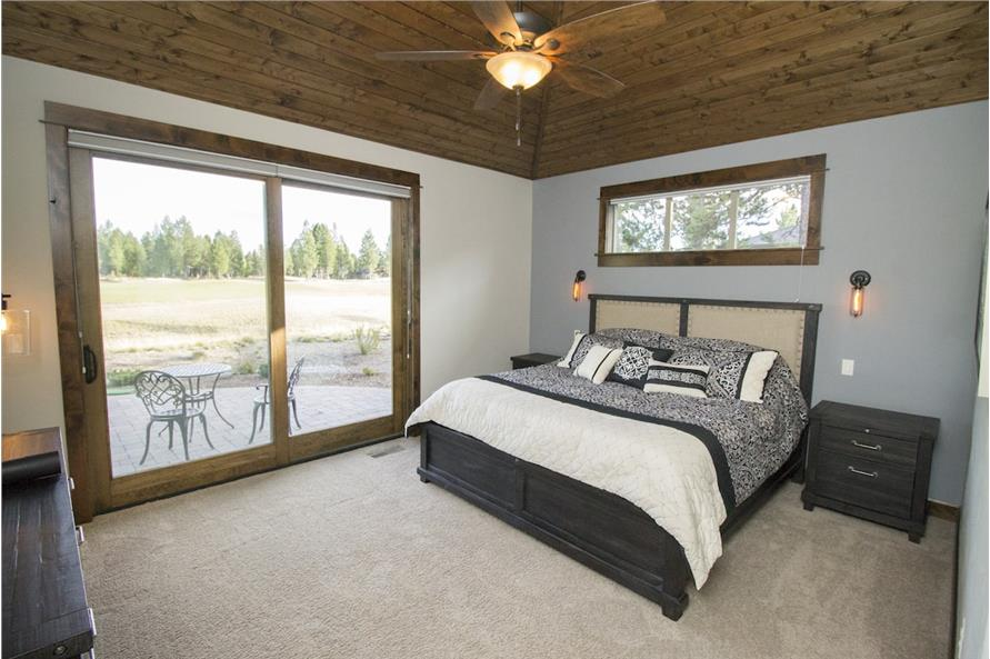 Master Bedroom of this 3-Bedroom,2536 Sq Ft Plan -2536