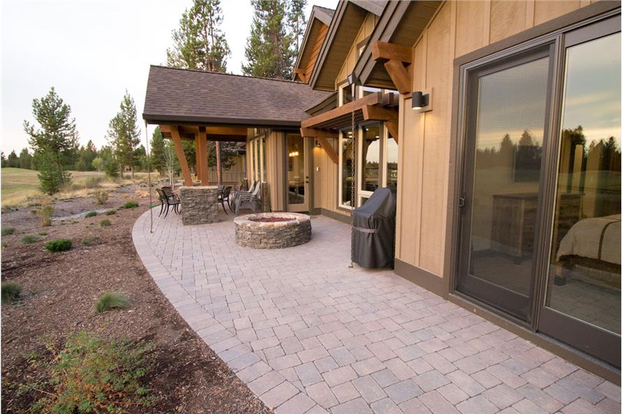 Patio of this 3-Bedroom,2536 Sq Ft Plan -2536