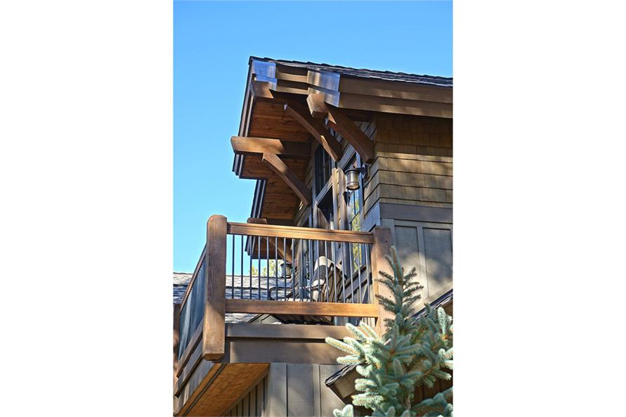 Balcony of this 4-Bedroom,4268 Sq Ft Plan -4268