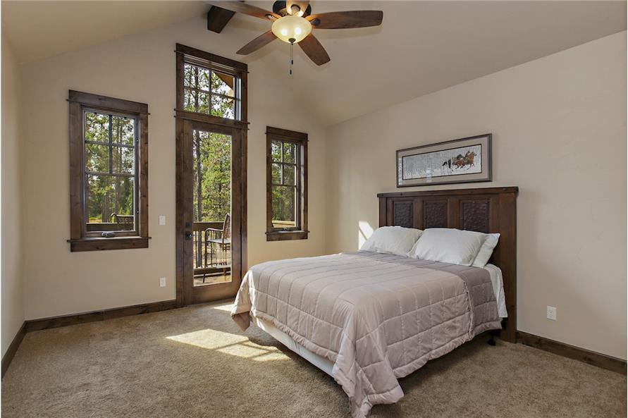 Bedroom of this 4-Bedroom,4268 Sq Ft Plan -4268