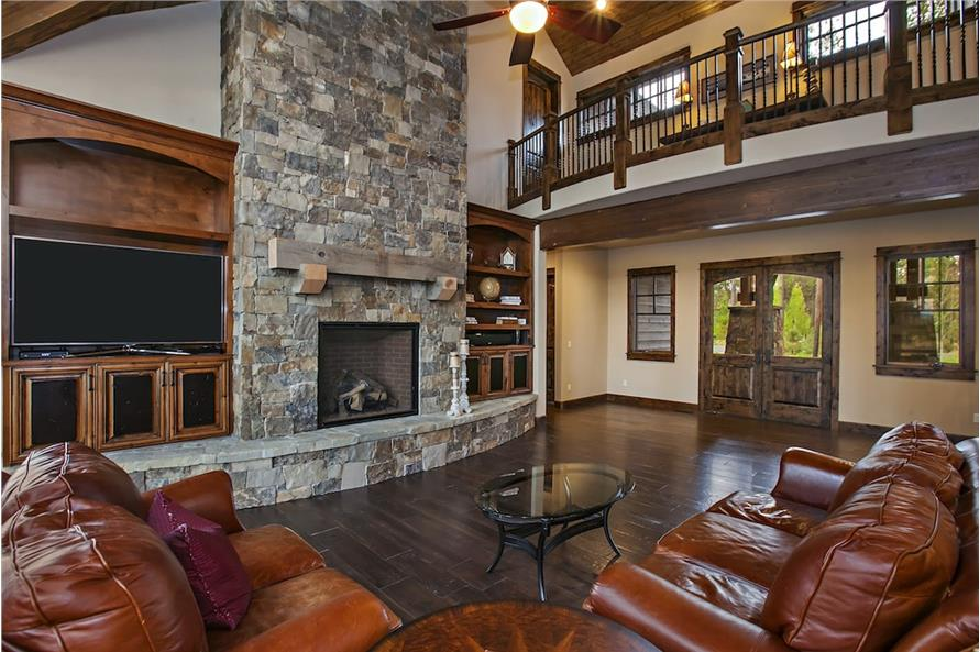 Great Room of this 4-Bedroom,4268 Sq Ft Plan -4268