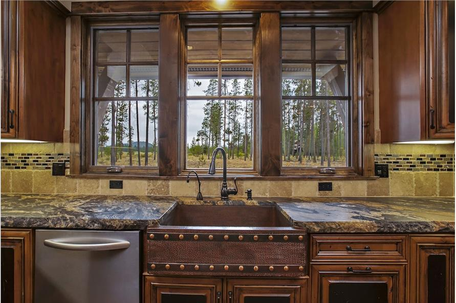 Kitchen of this 4-Bedroom,4268 Sq Ft Plan -4268