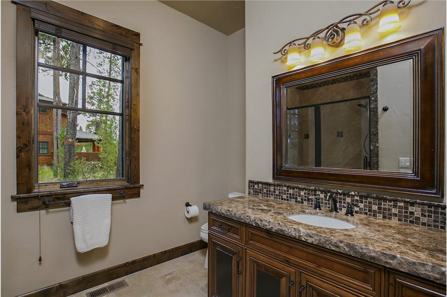 Master Bathroom of this 4-Bedroom,4268 Sq Ft Plan -4268