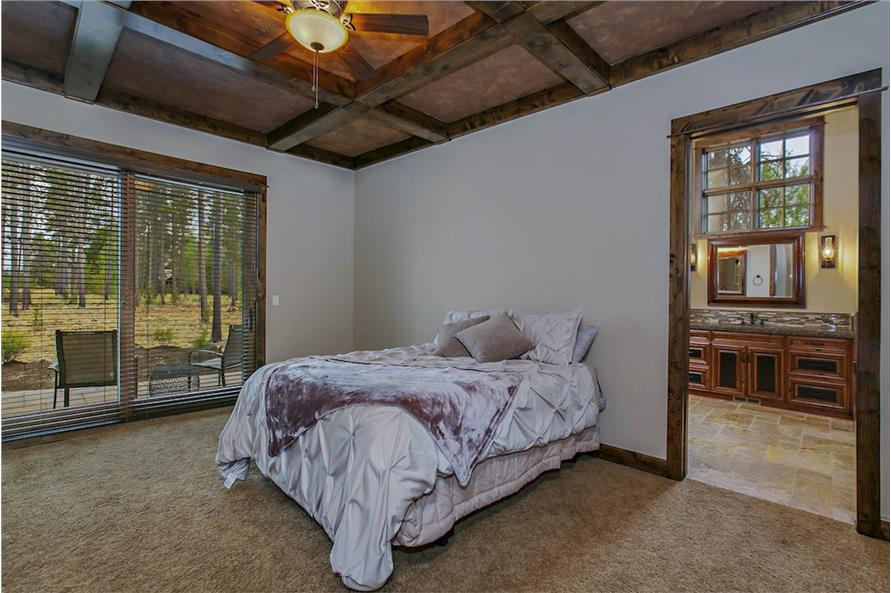 Master Bedroom of this 4-Bedroom,4268 Sq Ft Plan -4268