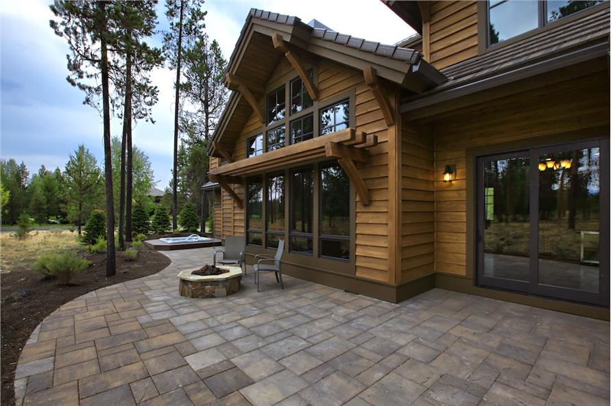 Patio of this 4-Bedroom,4268 Sq Ft Plan -4268