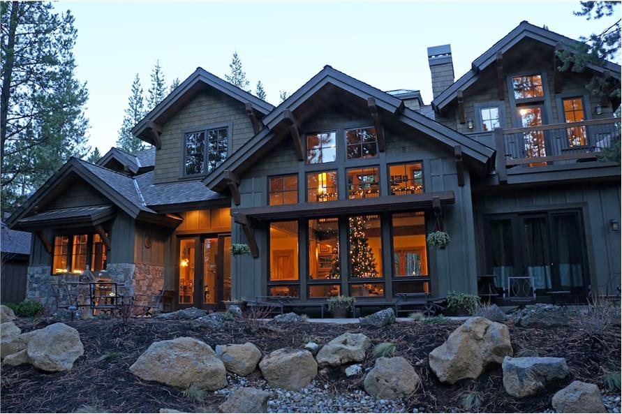 Home Exterior Photograph of this 4-Bedroom,4268 Sq Ft Plan -4268