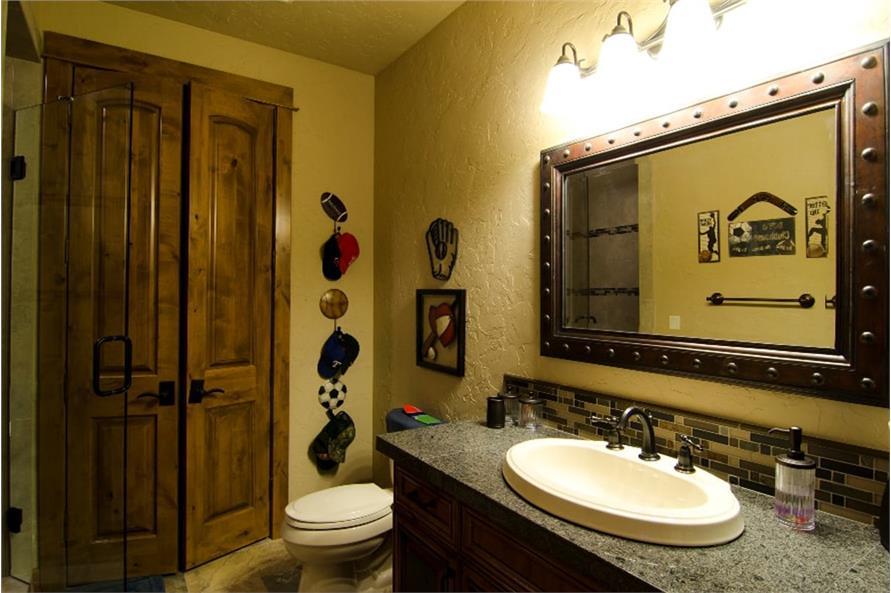 Bathroom of this 4-Bedroom,4268 Sq Ft Plan -4268
