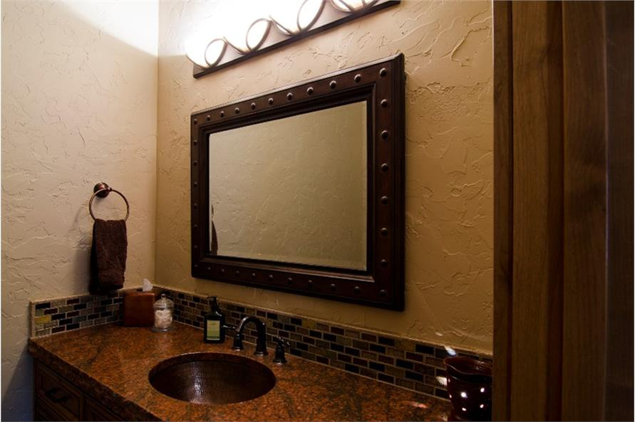 Powder Room of this 4-Bedroom,4268 Sq Ft Plan -4268