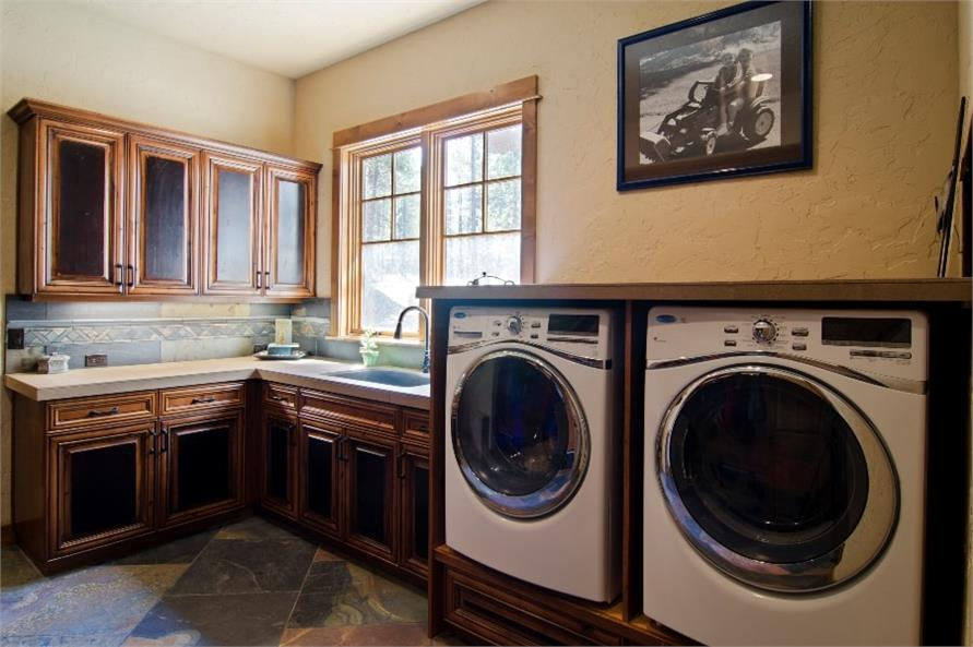 Laundry Room of this 4-Bedroom,4268 Sq Ft Plan -4268