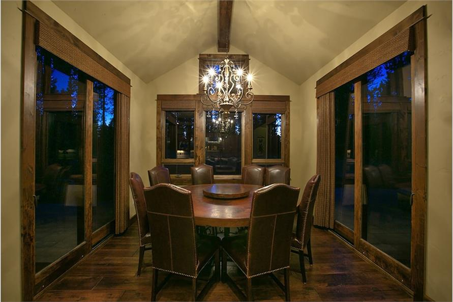 Dining Room of this 4-Bedroom,3691 Sq Ft Plan -3691