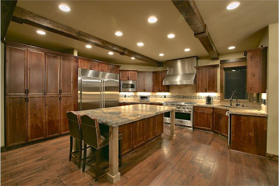 Kitchen of this 4-Bedroom,3691 Sq Ft Plan -3691