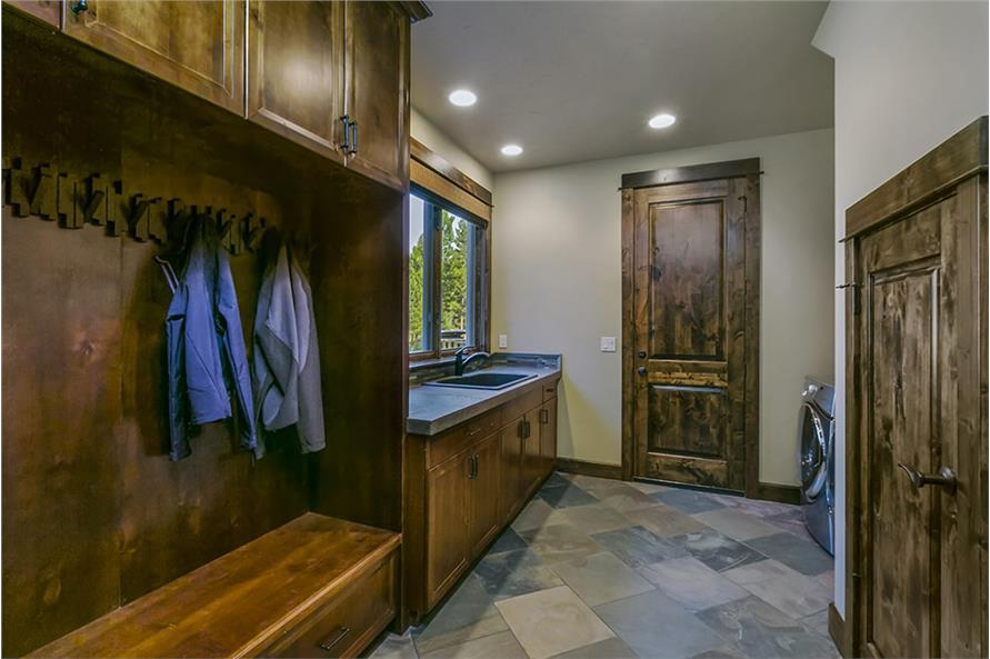 Powder Room of this 4-Bedroom,3691 Sq Ft Plan -3691