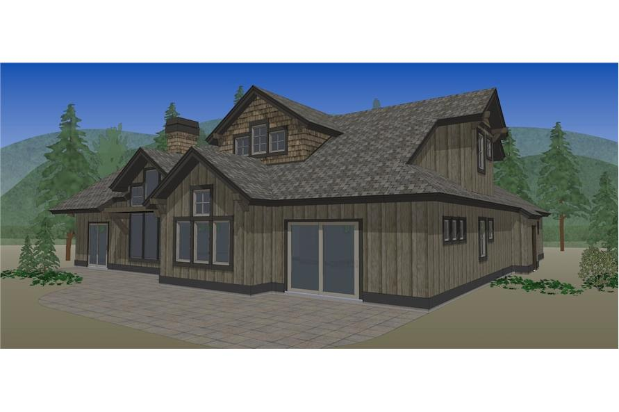 Home Plan Rendering of this 3-Bedroom,2360 Sq Ft Plan -2360