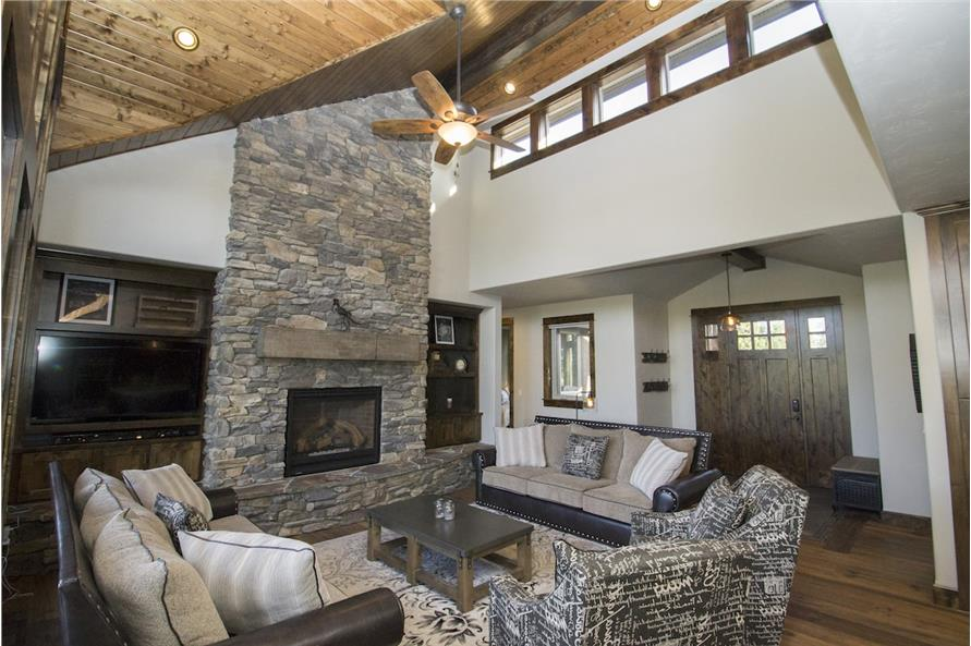 Living Room of this 3-Bedroom,2360 Sq Ft Plan -2360