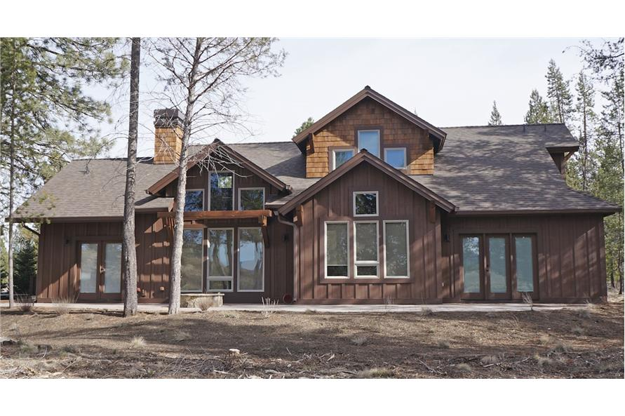 Rear View of this 3-Bedroom,2360 Sq Ft Plan -2360