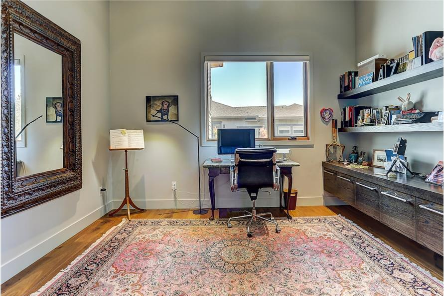 Home Office: Library of this 3-Bedroom,3264 Sq Ft Plan -3264