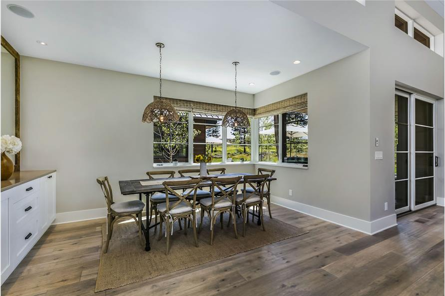 Dining Room of this 3-Bedroom,3832 Sq Ft Plan -3832