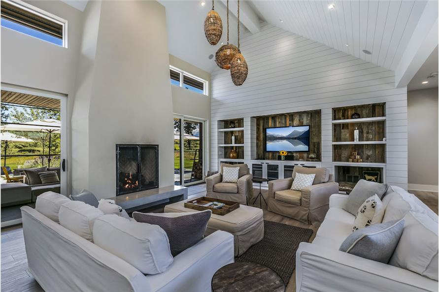 Family Room of this 3-Bedroom,3832 Sq Ft Plan -3832