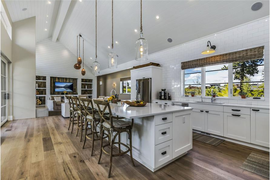 Kitchen of this 3-Bedroom,3832 Sq Ft Plan -3832