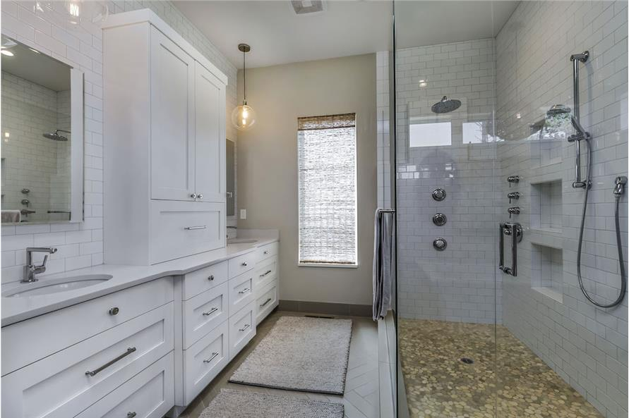 Master Bathroom of this 3-Bedroom,3832 Sq Ft Plan -3832