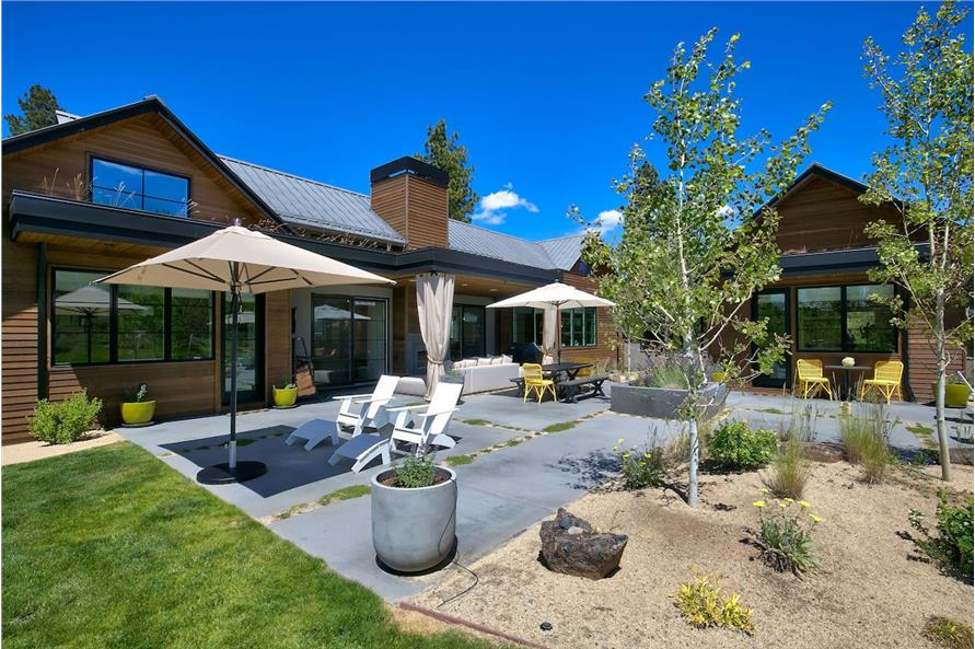 Patio of this 3-Bedroom,3832 Sq Ft Plan -3832