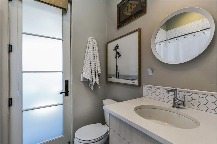 Powder Room of this 3-Bedroom,3832 Sq Ft Plan -3832