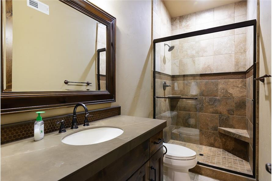 202-1016: Home Interior Photograph-Bathroom