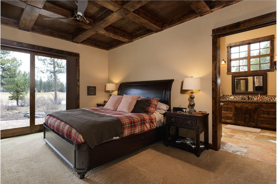 Master Bedroom of this 5-Bedroom,4964 Sq Ft Plan -4964