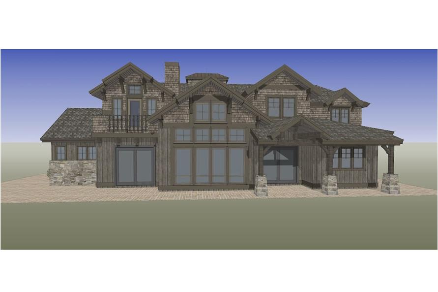 202-1016: Home Plan Rendering