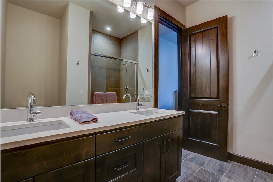 Bathroom of this 5-Bedroom,4412 Sq Ft Plan -4412