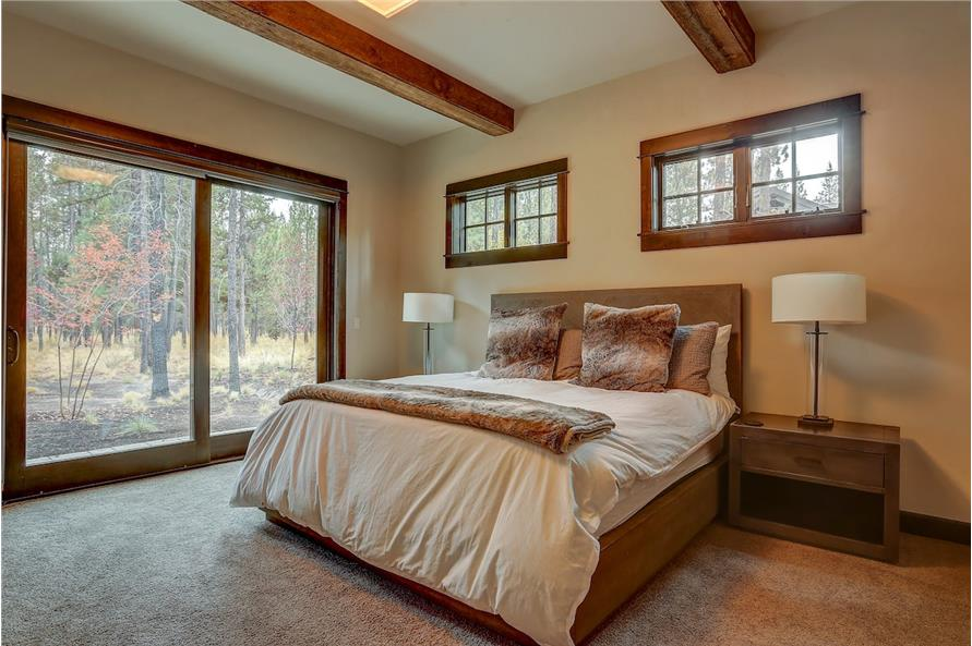 Master Bedroom of this 5-Bedroom,4412 Sq Ft Plan -4412