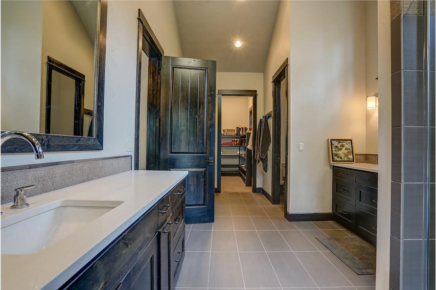 Master Bathroom of this 5-Bedroom,4412 Sq Ft Plan -4412