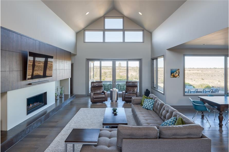 Family Room of this 5-Bedroom,3275 Sq Ft Plan -3275