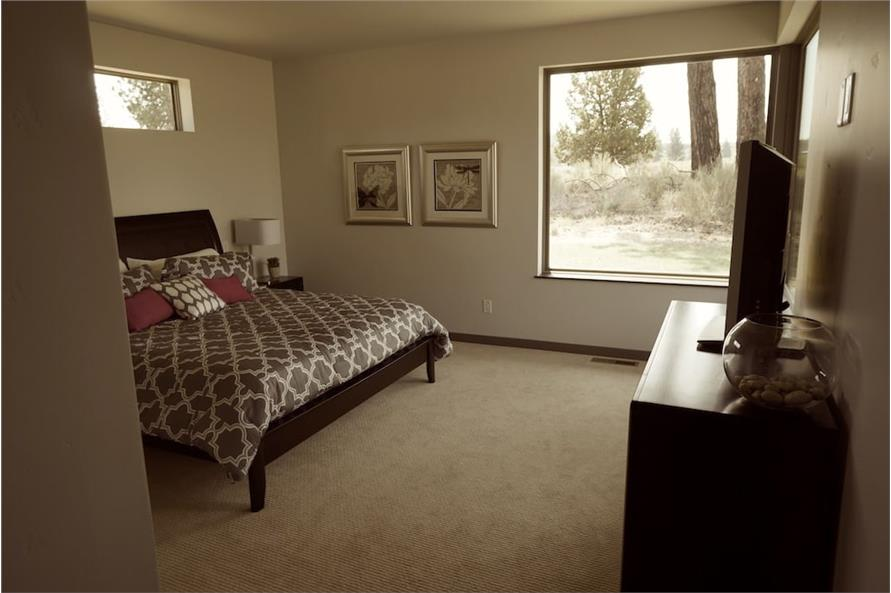 Master Bedroom of this 5-Bedroom,3217 Sq Ft Plan -3217