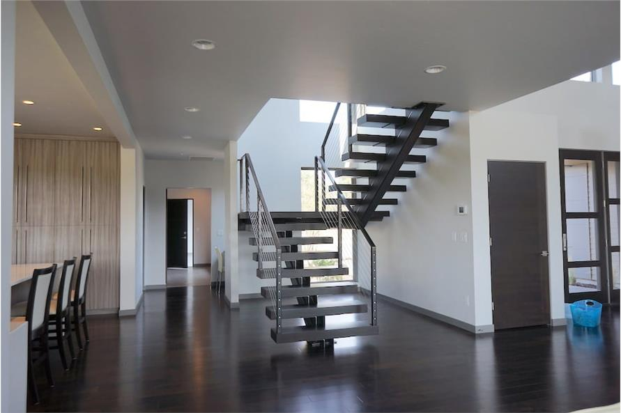 Entry Hall: Staircase of this 5-Bedroom,3217 Sq Ft Plan -3217
