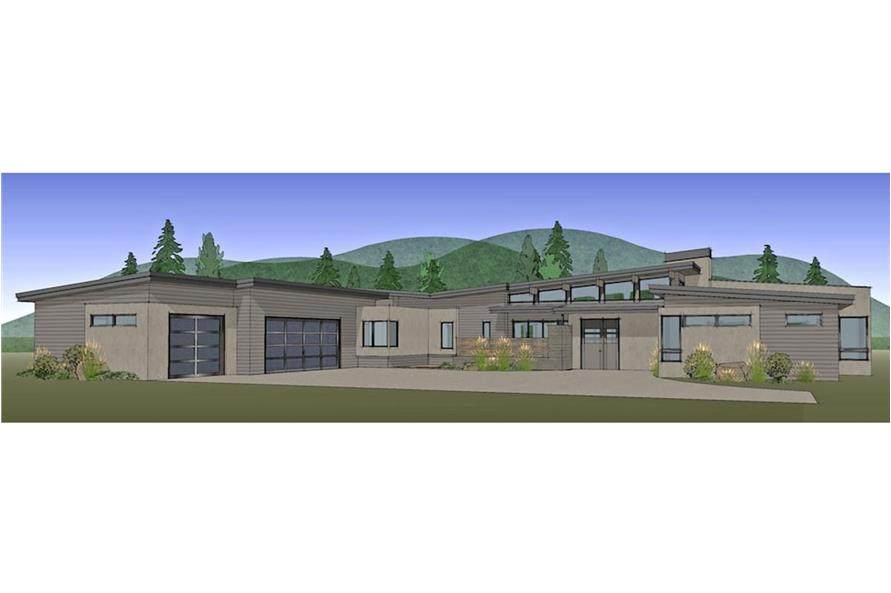202-1022: Home Plan Rendering