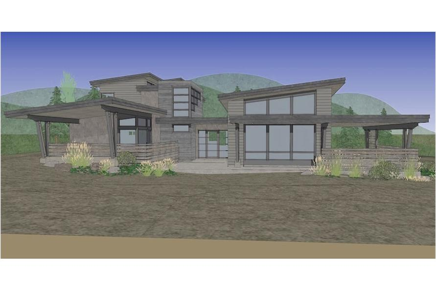 Home Plan Rendering of this 3-Bedroom,3345 Sq Ft Plan -3345