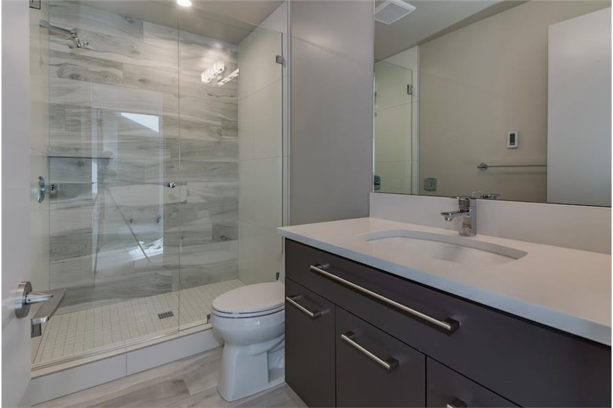 Bathroom of this 3-Bedroom,3345 Sq Ft Plan -3345