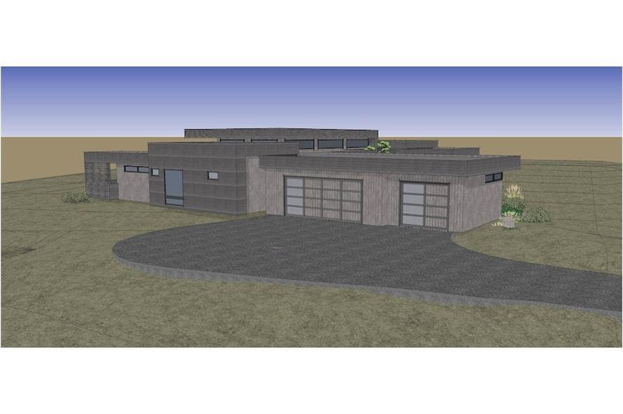 Home Plan Rendering of this 3-Bedroom,3665 Sq Ft Plan -3665