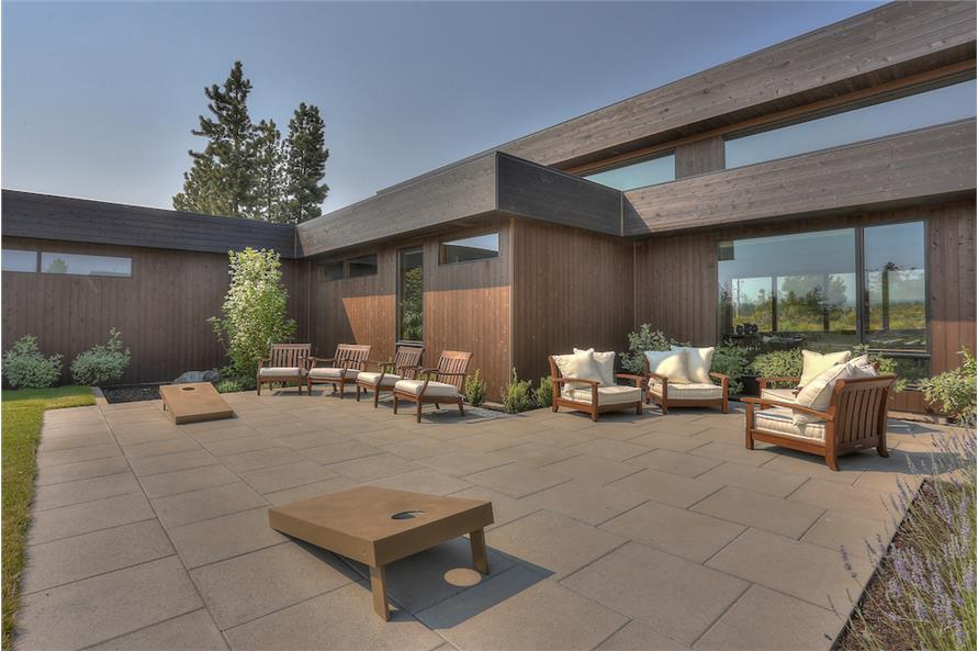Patio of this 3-Bedroom,3665 Sq Ft Plan -3665