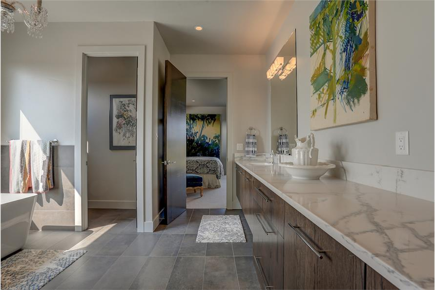 Master Bathroom of this 3-Bedroom,3665 Sq Ft Plan -3665