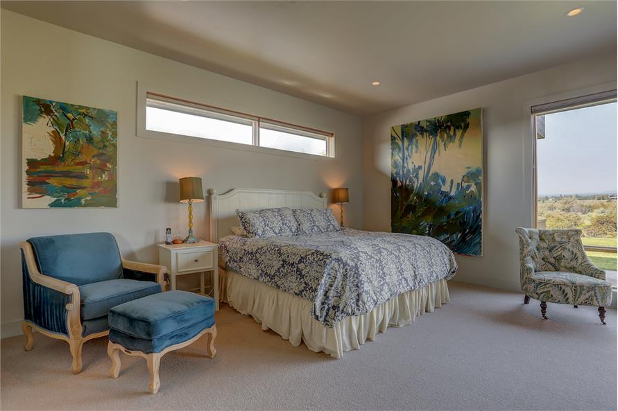 Master Bedroom of this 3-Bedroom,3665 Sq Ft Plan -3665