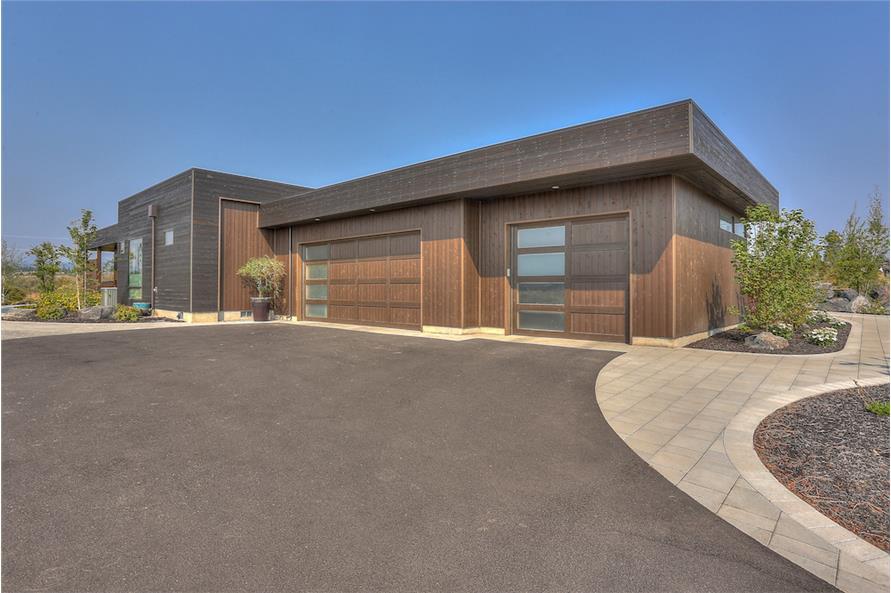 Garage of this 3-Bedroom,3665 Sq Ft Plan -3665
