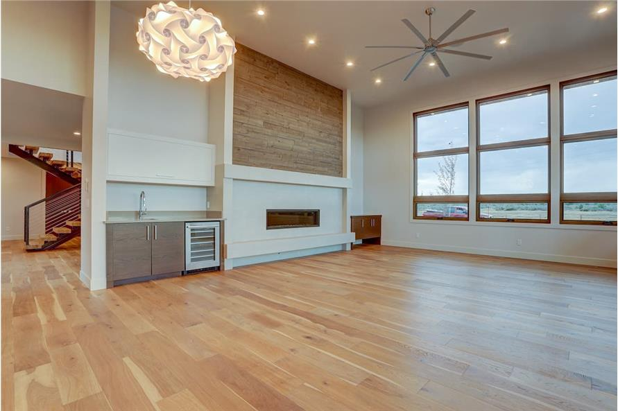 Family Room of this 4-Bedroom,3837 Sq Ft Plan -202-1031