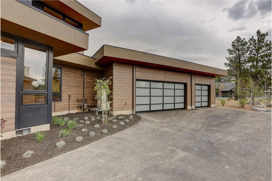 Garage of this 4-Bedroom,3837 Sq Ft Plan -202-1031